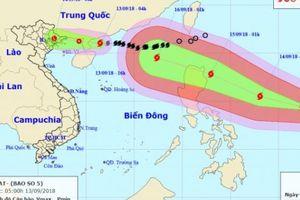 Tin bão mới nhất: Siêu bão MANGKHUT sẽ gây mưa rất to cho Bắc Bộ