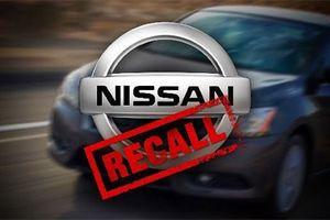 Triệu hồi hơn 165 nghìn xe Nissan do lỗi đề điện