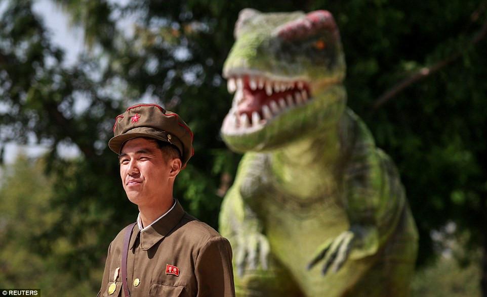Những hình ảnh của viện bảo tàng lịch sử Triều Tiên trong lần đầu mở cửa