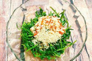 Món ngon mỗi ngày: Nộm rau muống thanh mát lạ miệng dễ làm cho chị em tại nhà