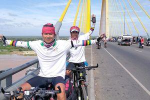 Người ấp ủ giấc mơ đạp xe trên đất Mỹ