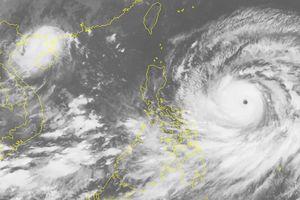 Siêu bão Mangkhut gây mưa lớn ở Bắc bộ và bắc Trung bộ