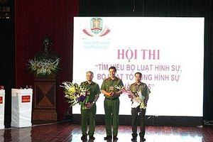 Thi tìm hiểu BLHS 2015 - Điểm nhấn hưởng ứng Ngày Pháp luật Việt Nam của Hà Nội