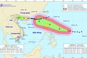 Bão chồng siêu bão tiến vào biển Đông, Bắc Bộ sắp mưa lớn