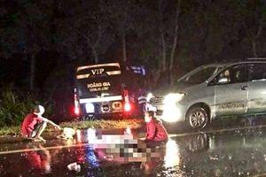 Hai thanh niên tử vong tại chỗ sau khi va chạm với xe khách Hoàng Gia