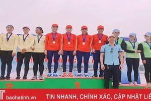 Hà Tĩnh giành 7 huy chương tại Giải Rowing và Canoeing vô địch trẻ quốc gia