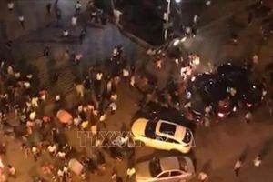 Thương vong tăng trong vụ lao xe vào đám đông ở Trung Quốc