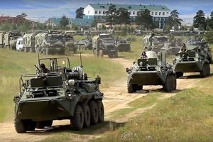 Những hình ảnh ấn tượng từ cuộc tập trận lớn nhất 40 năm qua của Nga