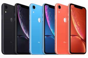 iPhone XR trình làng: Đa sắc màu, màn hình LCD, giá từ 749 USD