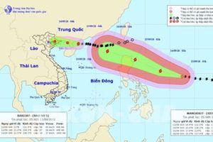 Siêu bão Mangkhut diễn biến phức tạp, Ninh Bình ban hành công điện khẩn