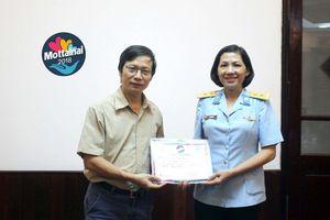 Hội Phụ nữ Lữ đoàn 26 ủng hộ 28 thùng đồ cho Mottainai mùa thứ 6