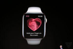 Apple Watch 4: Đo điện tâm đồ, phát hiện khi người đeo ngã, tự động gửi thông tin cấp cứu
