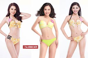 Cận cảnh nhan sắc 10 thí sinh ấn tượng nhất vòng chung kết Hoa hậu Việt Nam 2018