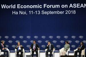 Hôm nay, Hội nghị WEF ASEAN 2018 thảo luận về blockchain, kinh tế ngầm
