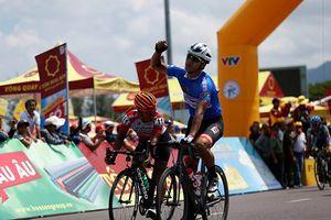 Giải xe đạp quốc tế VTV Cup 2018: David Van Eerd mất Áo xanh