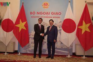 Nhật Bản coi trọng quan hệ đối tác chiến lược sâu rộng với Việt Nam