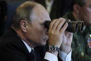 Tổng thống Putin thị sát cuộc tập trận lớn nhất lịch sử Nga
