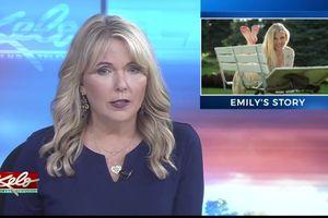 Nữ biên tập viên nén đau, đưa tin cái chết của con gái trên truyền hình