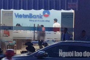 Truy bắt tên cướp ngân hàng ở Tiền Giang