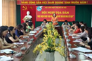 Đẩy mạnh cuộc vận động 'Phụ nữ Thủ đô ứng xử đẹp'
