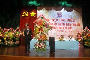 Linh mục Nguyễn Văn Lượng làm Chủ tịch UBĐKCG Việt Nam tỉnh Bà Rịa – Vũng Tàu
