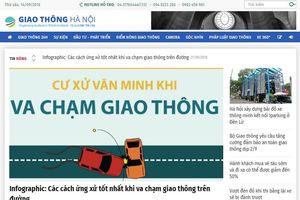 Báo Kinh tế & Đô thị ra mắt chuyên trang về giao thông Hà Nội