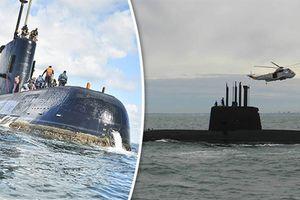 Mỹ lại khiến Argentina hy vọng tìm thấy tàu ngầm San Juan