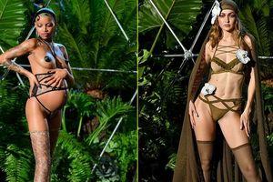 Show của Rihanna tôn vinh tình chị em, mời cả bà bầu diễn nội y