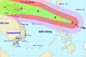 Khẩn: Siêu bão Mangkhut gây sóng cao 14m, ảnh hưởng 27 tỉnh