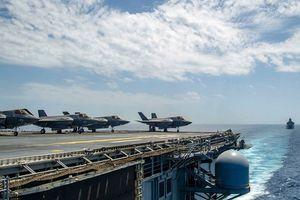 Lầu Năm Góc 'nóng mặt' với tàu chiến Nga, Mỹ triển khai F-35 tới Syria?