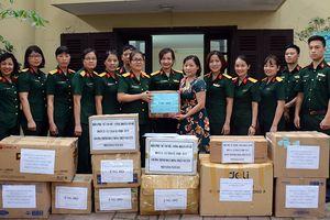 Hội Phụ nữ Cục Bảo vệ An ninh quân đội ủng hộ Chương trình thiện nguyện Mottainai 2018