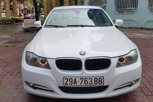 Xe sang BMW 320i dùng 8 năm, giá 468 triệu ở Hà Nội