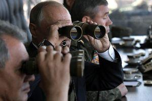 Tập trận Vostok-2018 có Tổng thống Putin dự khán
