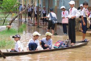 Bộ trưởng Bộ GD-ĐT gửi công điện phòng chống ngập lụt ở Đồng bằng sông Cửu Long