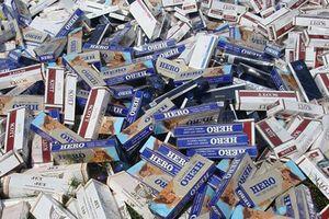 TP. HCM: Phát hiện, bắt giữ hơn 11 nghìn bao thuốc lá nhập lậu
