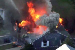 Gần 100 vụ cháy nổ liên tiếp do rò khí ở Mỹ