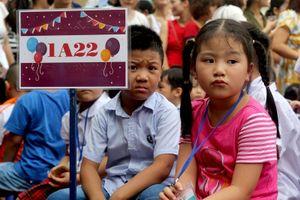 Phường chật kín 72 chung cư, trẻ lớp 1 phải chuyển sang học 1 buổi/ngày