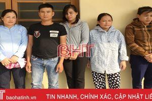 Phá đường dây lô đề trái phép trên địa bàn thành phố Hà Tĩnh