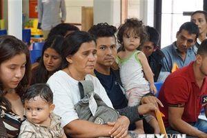 Ngày càng nhiều gia đình tìm cách nhập cư trái phép vượt biên vào Mỹ