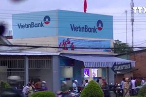 Đối tượng cầm súng cướp ngân hàng Vietinbank Tiền Giang