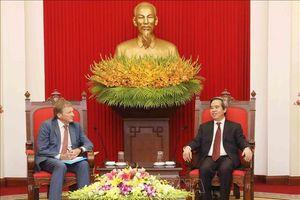 Doanh nghiệp Việt - Nga cần tích cực tìm kiếm phương thức hợp tác mới