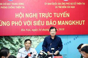 Siêu bão Mangkhut: Sáng mai (15/9) vào Biển Đông, 'uy hiếp' Quảng Ninh