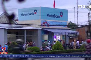 Xảy ra vụ cướp tại Ngân hàng Vietinbank Tiền Giang