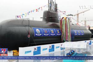 Hàn Quốc hạ thủy tàu ngầm tự đóng