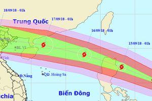Dự báo, bão Mangkhut sẽ gây ảnh hưởng tới 27 tỉnh/thành phố ở Bắc Bộ