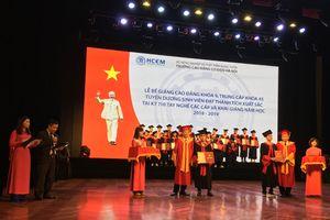 Trường Cao đẳng Cơ điện Hà Nội: Gần 90% học sinh tốt nghiệp đạt khá, giỏi