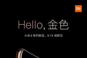 Xiaomi Mi 8 Youth Edition sẽ có một phiên bản màu vàng?