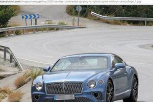 Chạm mặt Bentley Continental GT plug-in hybrid 2020 không chút ngụy trang