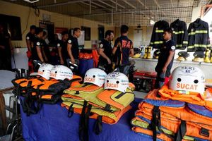 Philippines gấp rút đối phó với siêu bão Mangkhut sắp đổ bộ