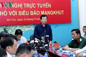 Phó Thủ tướng Trịnh Đình Dũng chỉ đạo ứng phó siêu bão Mangkhut